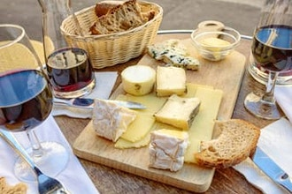 Virtual Wine and Cheese Tasting