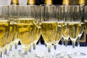 Toast to Champagne and Sparkling Wine