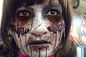Halloween Make-up: Blood and Gore