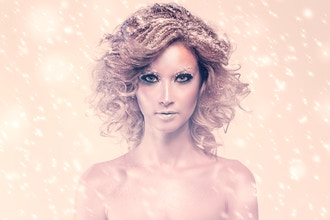 Winter Fantasy Make-up (NYC)