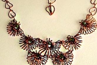 Daisies Wire Necklace Jewelry Workshop