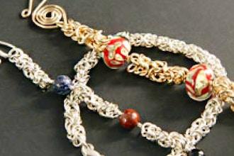 Byzantine Bracelet Chain Maille Weaving