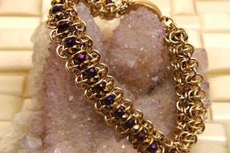 Chain Maille Bracelet Weaving Class