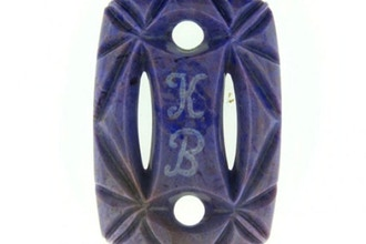 Key-chain Talisman Gem Stone Carving