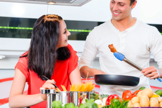 Couples Cooking: Your Place or Mine
