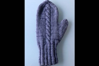 Basic Cable Mitten