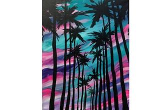 BYOB Painting: LA Palms