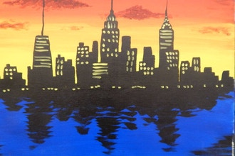 BYOB Painting: NYC Skyline