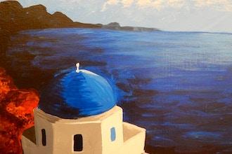 BYOB Painting: Santorini (Astoria)