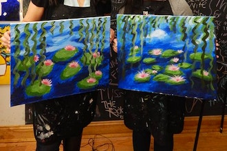 BYOB Painting: Monet Waterlilies (Astoria)