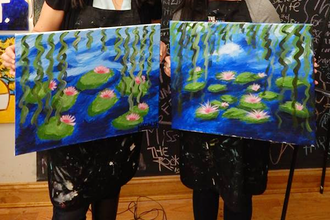 BYOB Painting: Monet Waterlilies