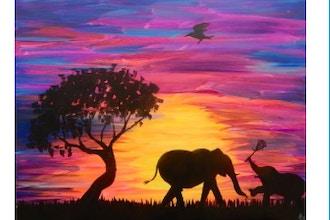 BYOB Painting: Elephants (Astoria)