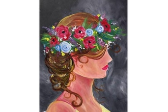 BYOB Painting: Flower Crown (UWS)