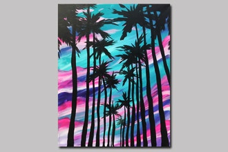 BYOB Painting: L.A. Palms (Astoria)