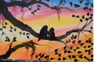 BYOB Paint with a Partner: Lovebirds (UWS)