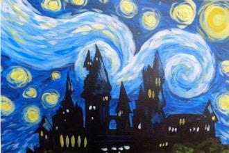 BYOB Painting: Hogwart's Starry Night(UWS)