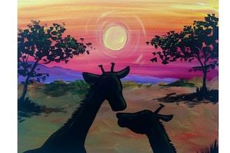 BYOB Painting: Giraffes (UWS)