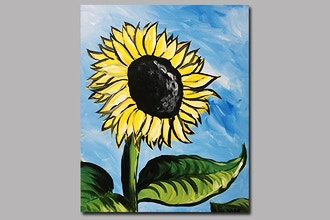 BYOB Painting: Sunflower (Astoria)