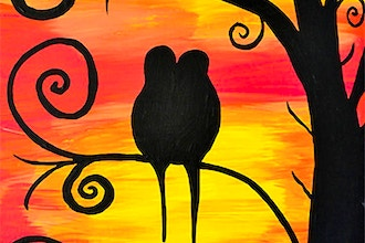 BYOB Painting: Lovebirds (Astoria)