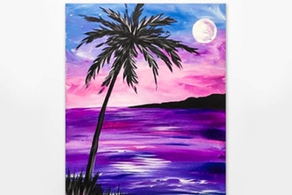 BYOB Painting: Night Palm (UWS)
