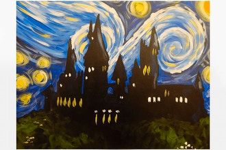 BYOB Painting: Hogwart's Starry Night (Astoria)