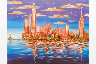 BYOB Painting: New York, New York (UWS)