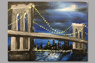 BYOB Painting: Brooklyn Bridge (Astoria)