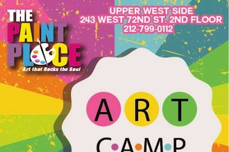Summer Art Camp for Kids (UWS) - Kids Camp Classes New York | CourseHorse -  The Paint Place