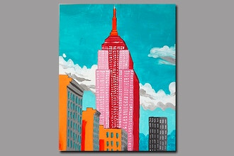 BYOB Painting: Empire State Building (UWS)