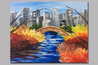 BYOB Painting: Central Park in Fall (UWS)