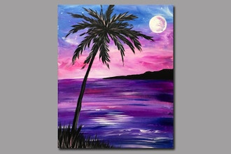 BYOB Painting: Night Palm (Astoria)