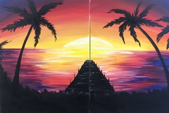 BYOB Paint with a Partner: Palm Trees (Astoria)