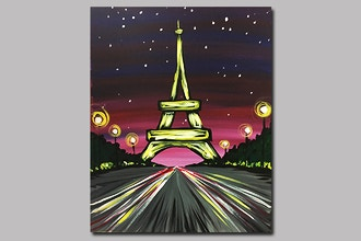 BYOB Painting: Paris Night (Astoria)