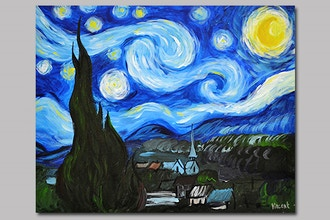 BYOB Painting: Starry Night