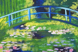 BYOB Painting: Monet Bridge (Astoria)