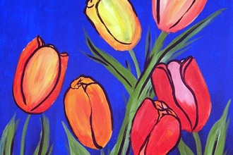 BYOB Painting: Spring Tulips (UWS)