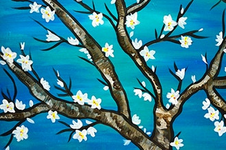 BYOB Painting: Almond Blossoms