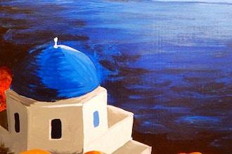 BYOB Painting: Santorini