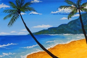 BYOB Painting: Beach and Palms