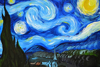 BYOB Painting: Starry Night