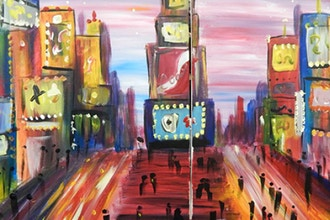 BYOB Paint with a Partner: Times Square (Astoria)