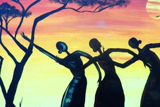 BYOB Painting: African Ladies Dancing (UWS)