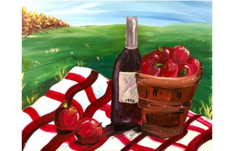 BYOB Painting: Fall Wine and Apples (UWS)
