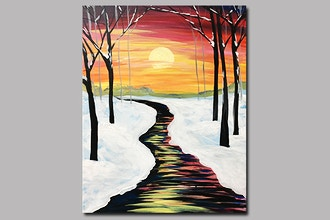 BYOB Painting: Winter Sunset (UWS)