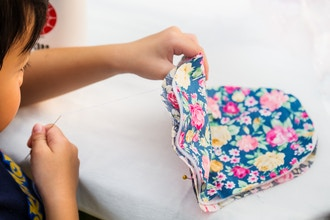 Homeschool Sewing for Kids