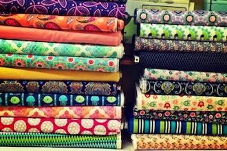 Garment District Tour & Fabric Workshop