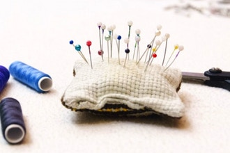 Kids Hand Sewing: Embroidery - At Home