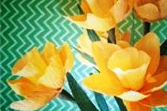 Crepe Paper Flower Workshop Paper Classes New York Coursehorse