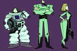 Summer Camp: Comic Book Illustration (Grades 3-5)