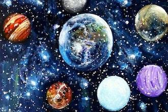 Summer Camp: Planetary Paintings (Grade K-2) - Online
